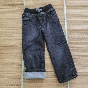 Gymboree Fleece Lined Jeans
